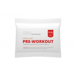 KFD Premium Pre-Workout - 12,5g - PRÓBKA
