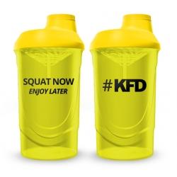 KFD SHAKER PRO Zakręcany 600 ml - Żółty