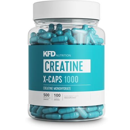 KFD Creatine X-CAPS - 500 capsules