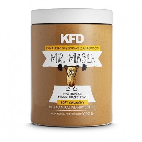 KFD Masło Orzechowe / Peanut Butter Smooth 100% - 1000 g