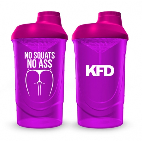 KFD SHAKER PRO Zakręcany 600 ml - Zielony