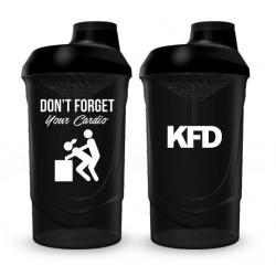KFD SHAKER PRO Zakręcany 600 ml - czarny