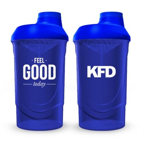 KFD SHAKER PRO Zakręcany 600 ml - Niebieski
