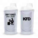 KFD SHAKER PRO Zakręcany 600 ml - Biały