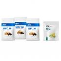 3 x WPC Premium + TCM 600 g