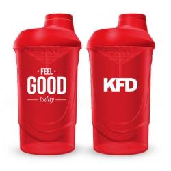 KFD SHAKER PRO Zakręcany 600 ml - fioletowy