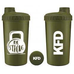 KFD Shaker 700ml, zielony – Be strong