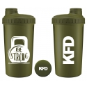 KFD Shaker 700ml, zielony – Be strong