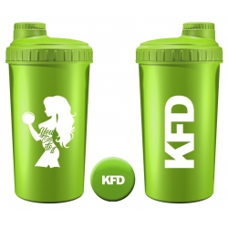 KFD Shaker 700ml, limonkowy – You can do it