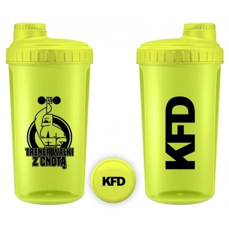 KFD Shaker 700ml, żółty (neon) – Trener