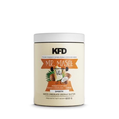 KFD Masło o smaku biała czekolada – kokos – 1000 g