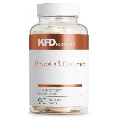 KFD Boswellia & Curcumin - 90 tabletek (Kurkumina i Kadzidłowiec)