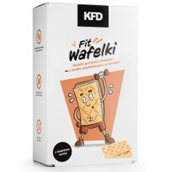 KFD Fit Wafelki o smaku arachidowym z orzechami - 65 g