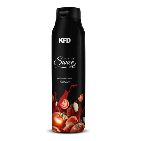 KFD Premium Sauce XXL - Barbecue - 900 g (Gęsty Sos)