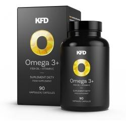 KFD Omega 3+ - 90 kaps.