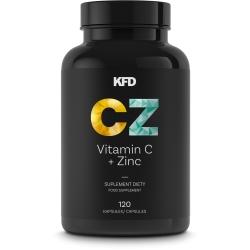 KFD VITAMIN C + ZINC – 120 KAPS.