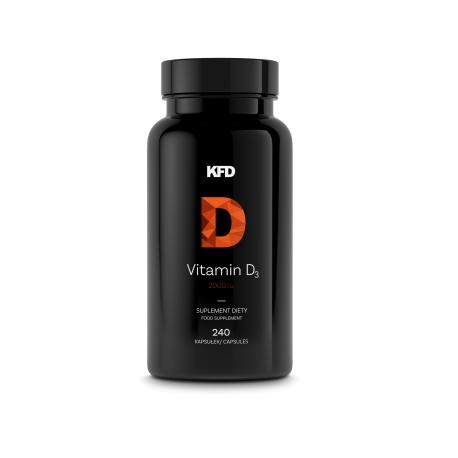 KFD VITAMIN D3 2000IU - 240 CAPS