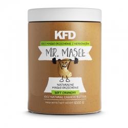 KFD Masło orzechowe z nerkowców CRUNCHY - 1000 g