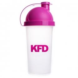 KFD SHAKER Zakręcany 500 ml - Różowy