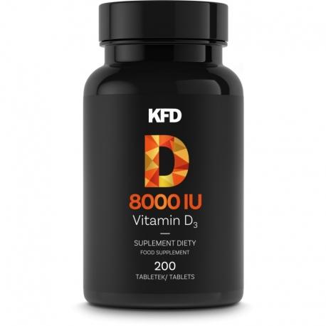 KFD Vitamin D3+K2 (MK-7 (z natto)) - 200 tabletek