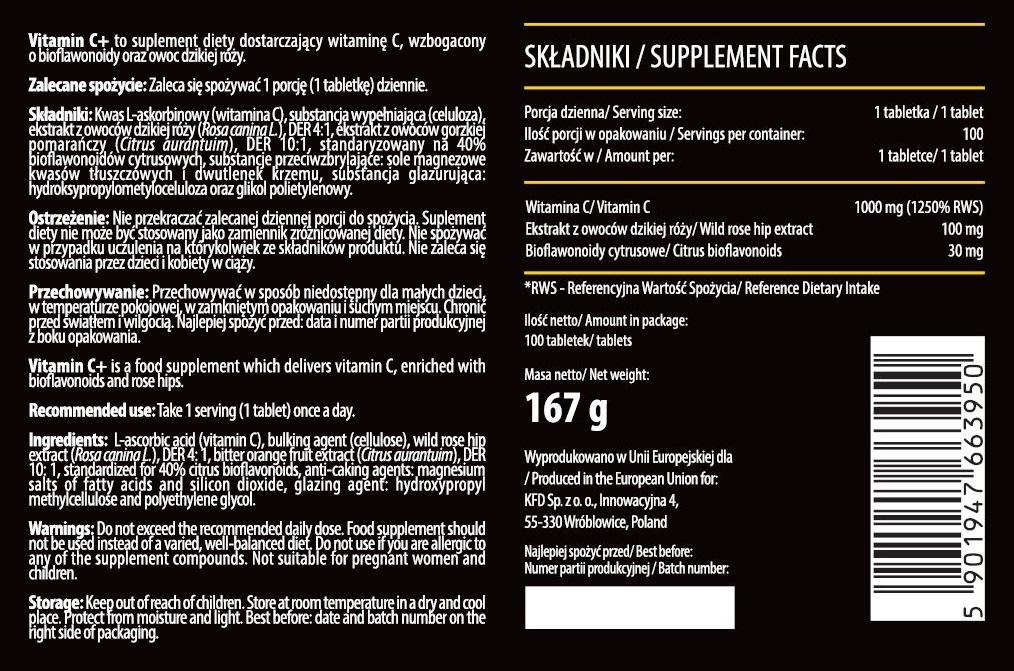 vitamin c tab